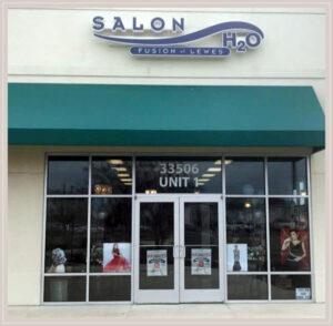 Salon H2O Storefront